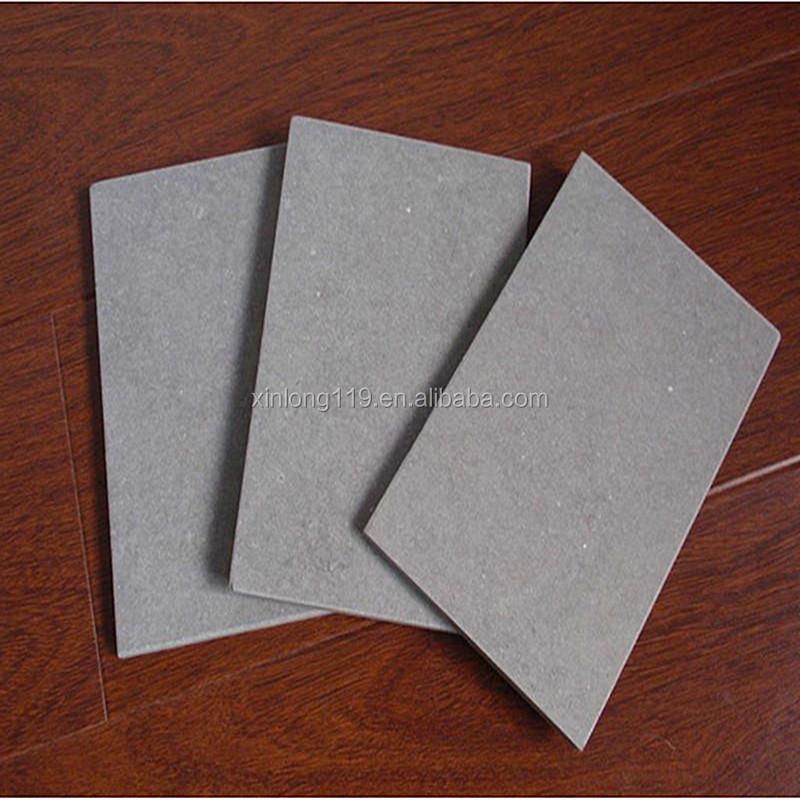 Rev tement de mur ext rieur fiber de couche de ciment for Panneau ciment exterieur