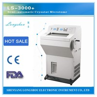 ls 3000 pluse Cryostat Microtome Semi-automatic Cryostat Microtome work with Optical microscope