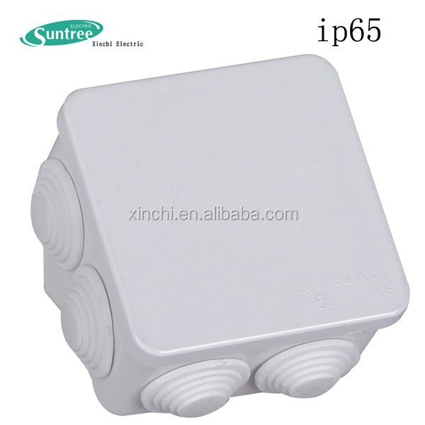 Factory Direct pvc ip65 plastic waterproof electrical ip65 junction box