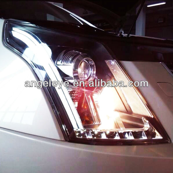 2010-2013 year for Cadillac for SRX LED Strip Head Lamp with HID kit LF