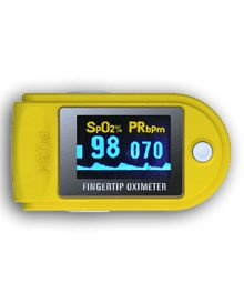 CE/FDA Approved Fingertip Pulse Oximeter (50D), integrated with SpO2 probe and processing display module
