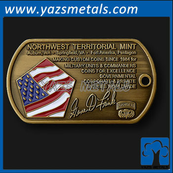 Custom metal dog tag business card buy cheap metal for Dog tag business cards