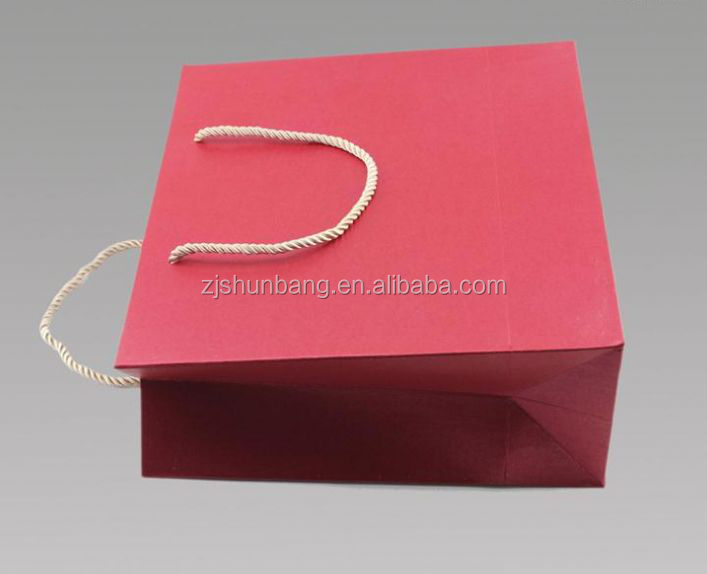 2015 cheap paper bag/ white punch hole paper bag for food packaging/ newsprint paper shopping bags