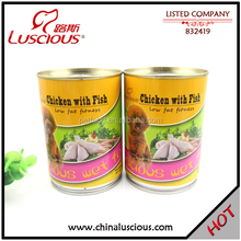375g Chicken and Fish Adult Pet Food Factory