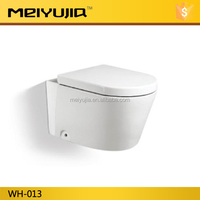 hotel use white color wall hung toilet from china