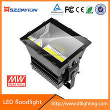 High power high lumen 130LM/W Waterproof IP66 Meanwell AC85-305V 277V outdoor 1000w led flood light fixture for spots building