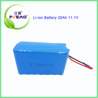 Rechargeable 18650 20Ah 12V lithium battery pack for golf cart