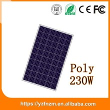 customized bulk pv module 230w poly solar panel in stock