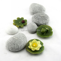 Garden Pool Decorate Resin Lotus Candle Holder,Vivid candle