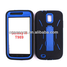 Phone Cover Impact Case For Samsung Galaxy S II SGH-T989 ,Mobile Phone Cases AT&A