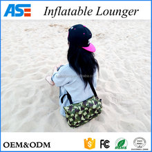 Summer hot sales lazy bag inflatable lounge chair for beach ,camp