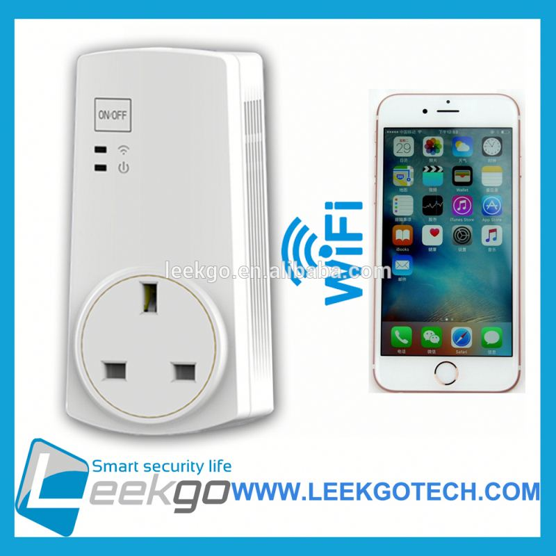 LEEKGO smart plug human nature with saving energy money timing controled remoted controled by mobile phone softwar or APP shop