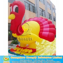 Cheap inflatable advertising turkey model for sale