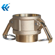Hydraulic quick coupler brass camlock coupling a