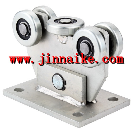galvanized 5 rollers cantilever/hanger gate/door wheel with bearing manufacturer