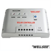 High voltage solar charge controller 12V 24V 48V 60A WELLSEE with CE ROHS from China outback