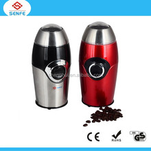 Hot sale Ceramic Portable Parts Hand Manual Coffee Grinder R-12 with pulse model and safety system