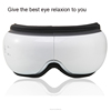 wireless folding eye massager with intelligent air pressure and music and intelligent voice broadcast