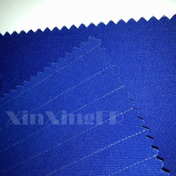Newest Light Weight EN1149 100% Cotton functional static free fabric Flame Retardant Anti-static fr denim Fabric for Clothes