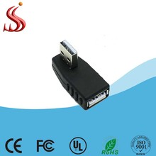 High Quality 90 Degree Usb Am To Af Adapter easy cap usb 2.0 audio-video capture adapter