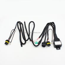 Universal car auto xenon <strong>HID</strong> headlight wire harness H4 H13 9004 9007 9005 9006 H11 H7 <strong>HID</strong> Relay Harness wiring cables kit