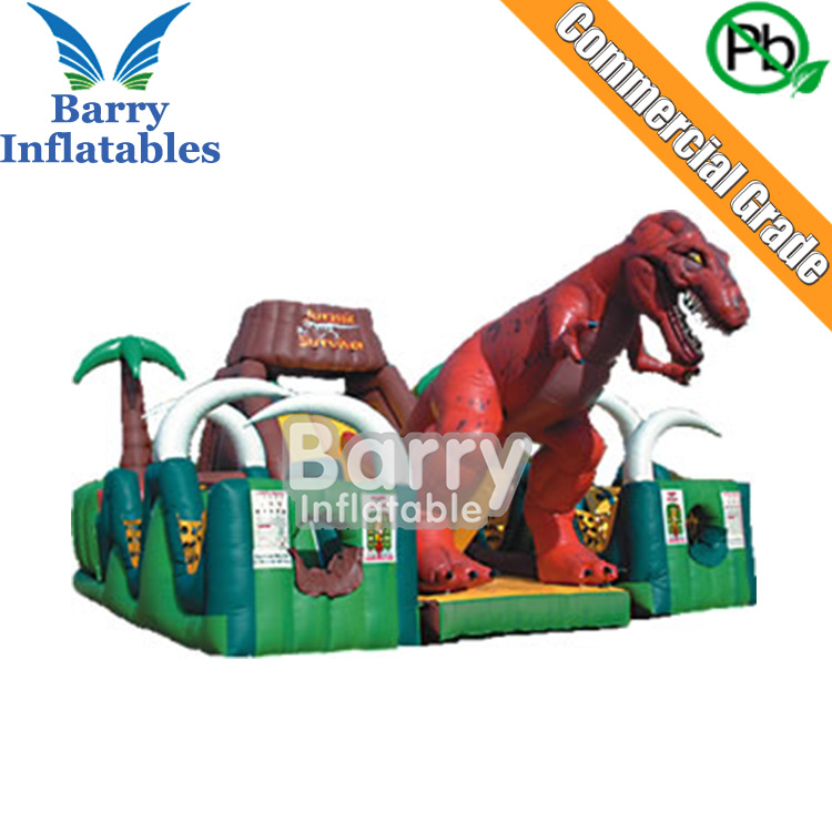 Factory Wholesale Price,Giant Inflatable obstacle course equipment for adults,outdoor inflatable playground for sale