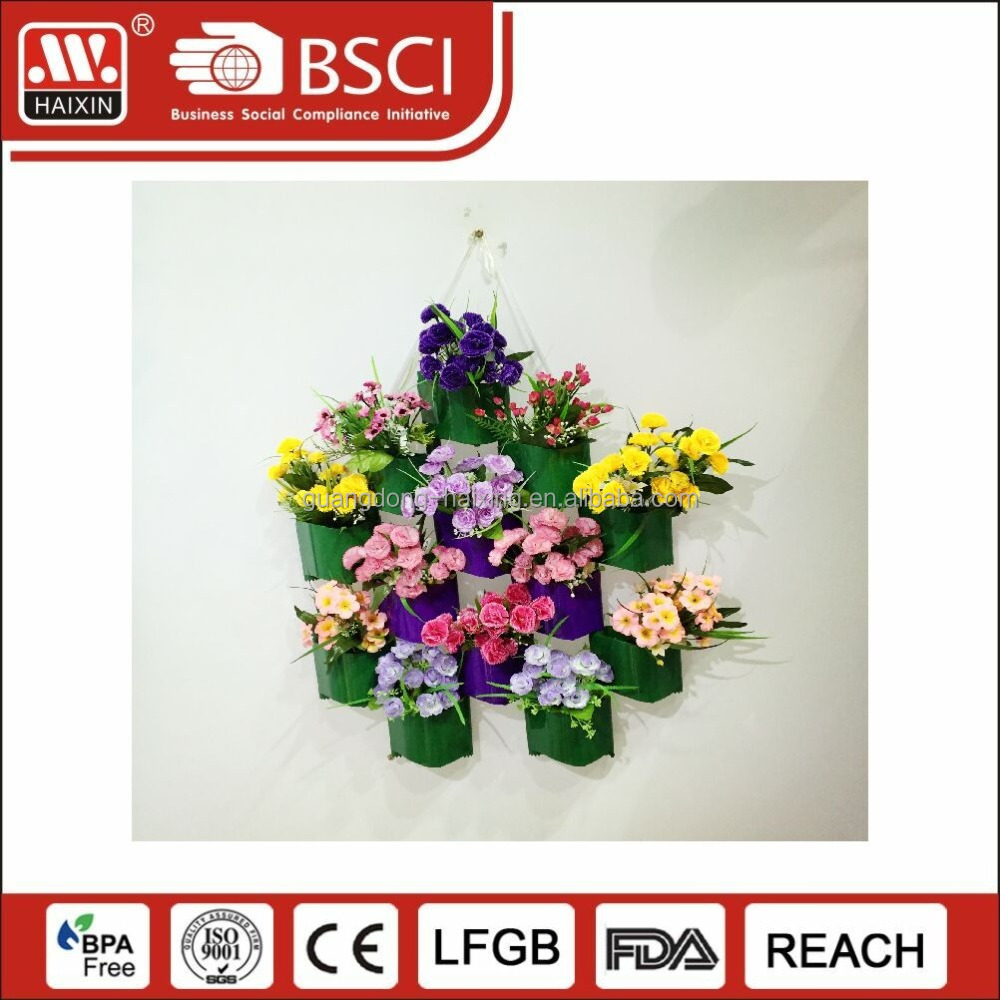 Plastic garden Printing plant pot , Flower color customized printed cheap plastic flower pot Wraps/sleeves