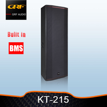 Dual 15 inch 800w conference room loudspeaker