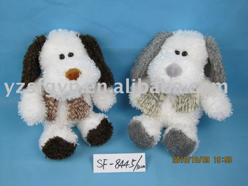 plush toy lovely sit dog