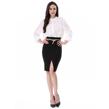 2018 Wholesale light weight summer coolmax office lady shirt