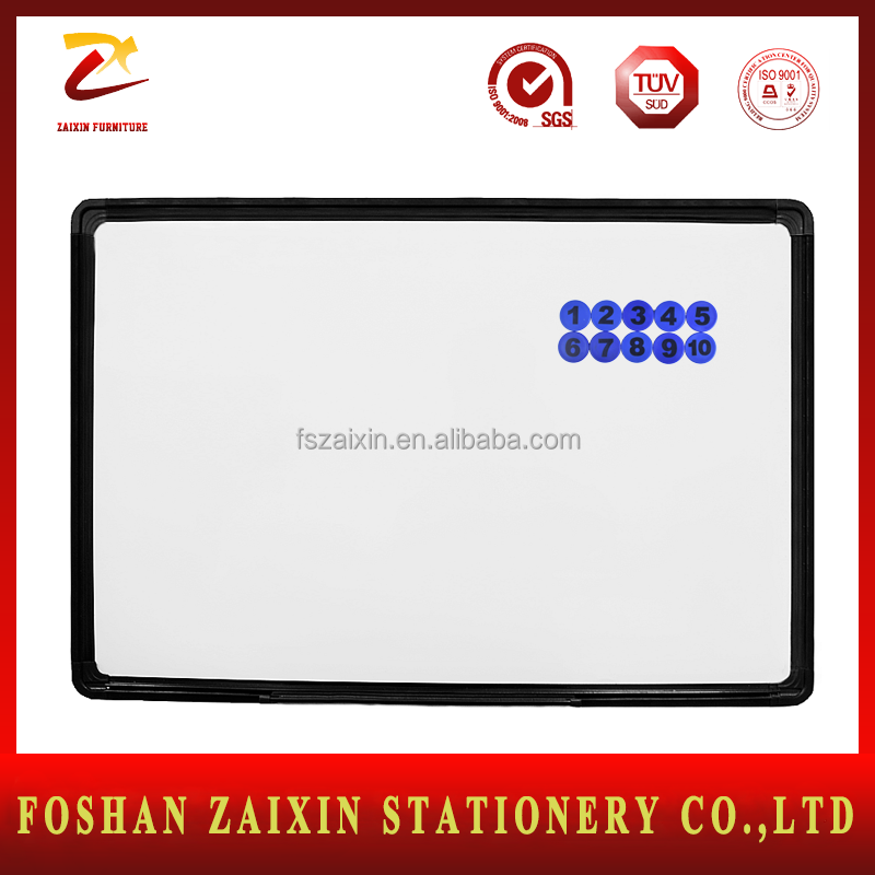 Student Used Wholesale Price Magnetic White Board Aluminum Frame Mini Whiteboard Dry erase board for refrigerator