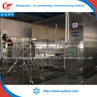 fruit and vegetable processing device for freezer production line/frozen vegetable process