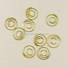 good quality good quality metal Wheel shaped paper clip paper clip low price