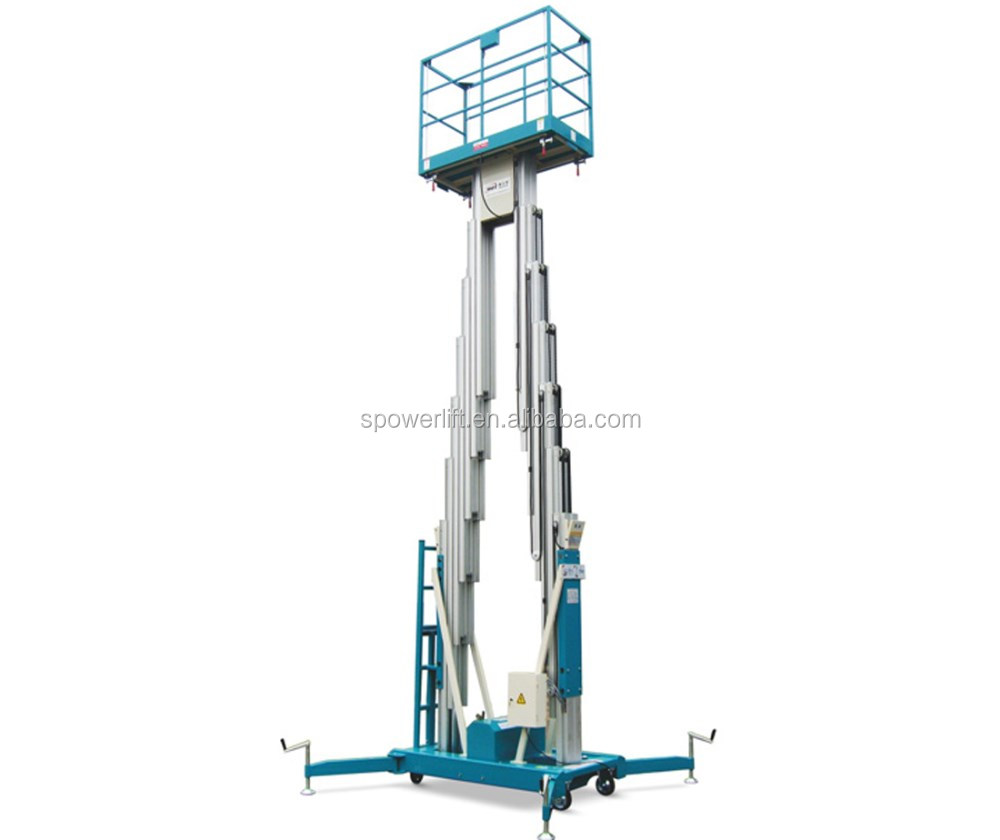 10m electric man lift ladder