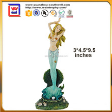 custom made sea-goddess figurines and resin sea-maiden and polyresin mermaid statues
