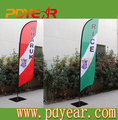 100% Polyester Customized Promotion Beach Flag