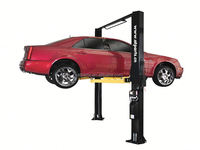 AT PARTS launch tlt440w wheel alignment 4 post car lift double scissor car lift with different release ways