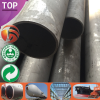 St44/St52/St45 Quality Assured mechanical properties of st37 steel Large Stock 125mm diameter steel welded pipe