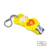 New Style Cute Plastic Carbon Steel Yellow Baby Funny Nail Clippers