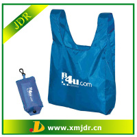 Wholesale Custom Shopping Folding Bag into Pouch