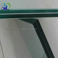 Processed Tempered Laminated Glass Building Construction Glass Panel For Curtain Wall Glass