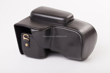 CC1349 black leather case bag for Nikon Coolpix P900 digital camera (P900s) New