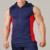 OEM Service men muscle tank top wholesale/Hot sale gym tank top with hood for men H-2036