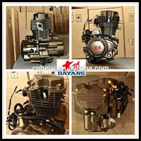 Four Stroke Water/Air Cooled Lifan 200cc Gasoline Tricycle Engine