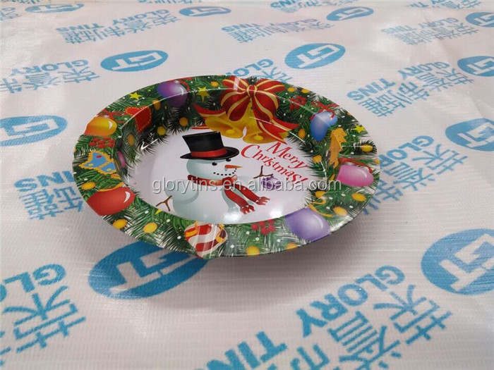 mini round ashtray tin case, tin for ash packing