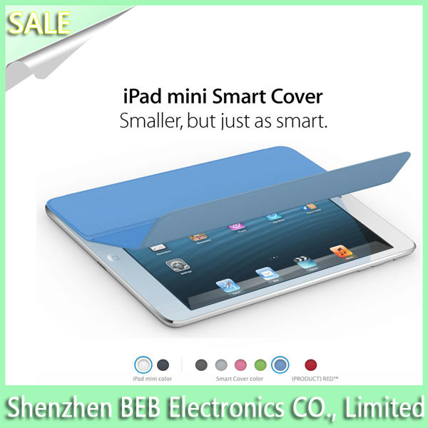 Genuine leather smart cover case for ipad air