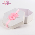Best valvue pink handmade grosgrain bow custom gift box ribbon