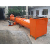 2017 hot sales industrial food rotary dryer