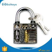 2016 Bullkeys manufacturer high quality professional wholesale plum flower padlock for practice