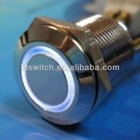 Reset normally open Metal push button micro switch 12mm